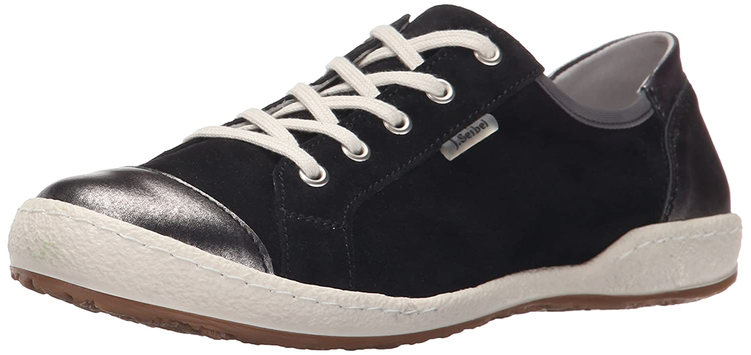 Amazon.com | Josef Seibel Women's Caspian 14 Fashion Sneaker, Black/Basalt,  36 EU/5-5.5 M US | Walking