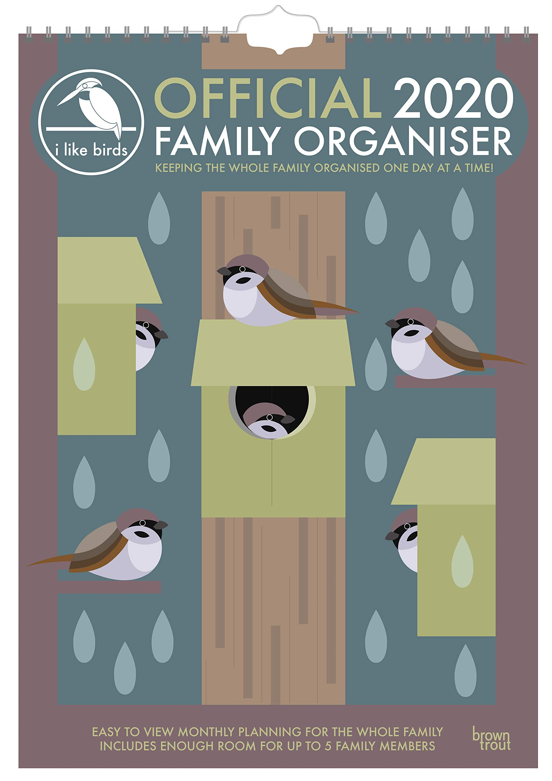 Happy Family A3 Planner Calendar 2020