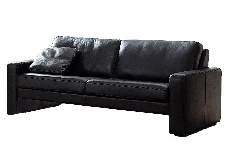 LEDER Sofa 2er Couch 2 SITZER