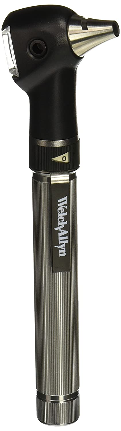 """Welch Allyn WEL22821 PocketScope Otoscope with""""AA"""" Handle and Soft Case"""