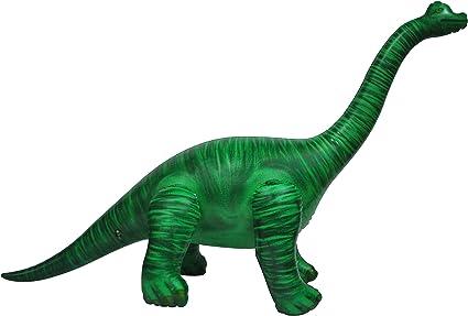 Amazon.com: Brachiosaurus, dinosaurio inflable., 48