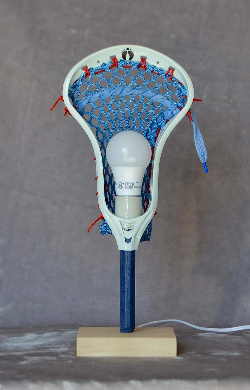 LaxLight Lacrosse Royal/red Sport Bedroom lamp, Lacrosse Light - Lacrosse Gift Blue/Maple - - Amazon.com