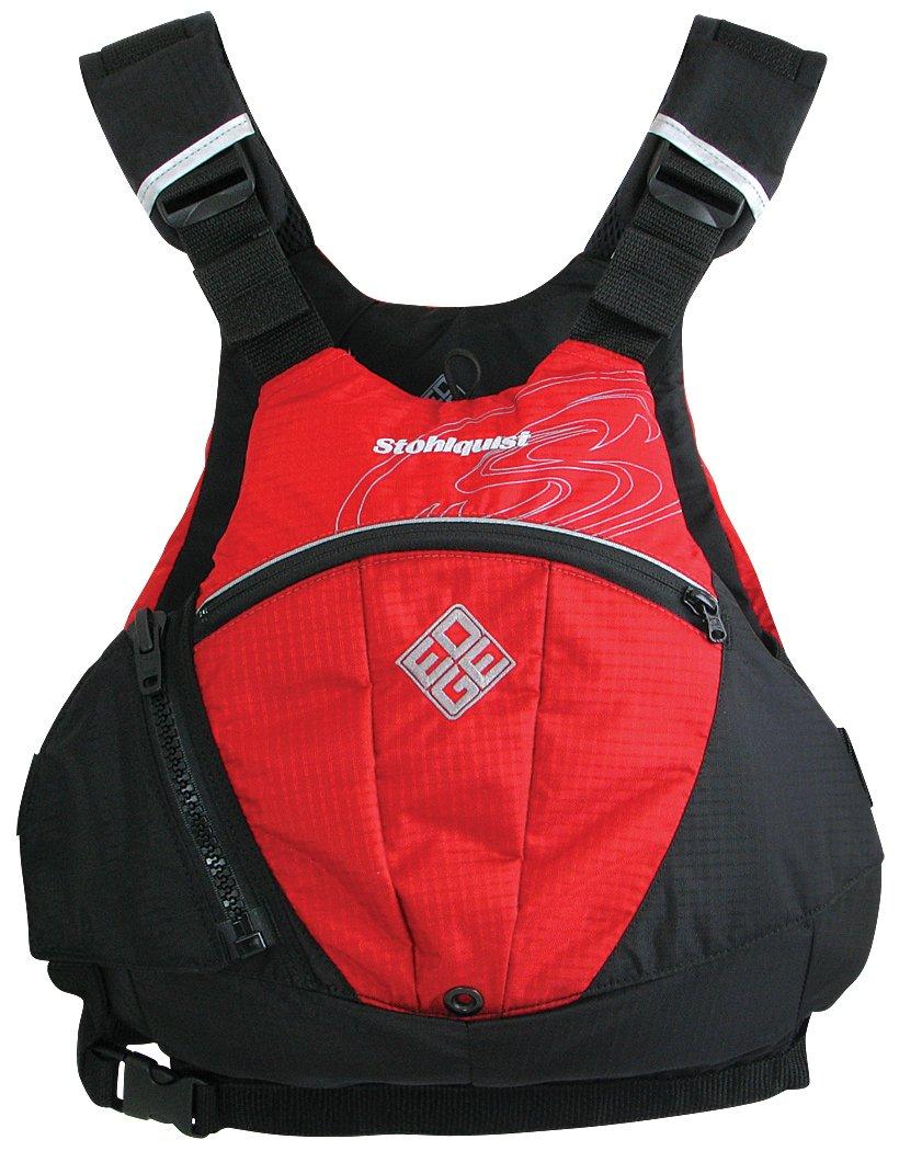 Stohlquist Edge Life Jacket, Red, Small/Medium