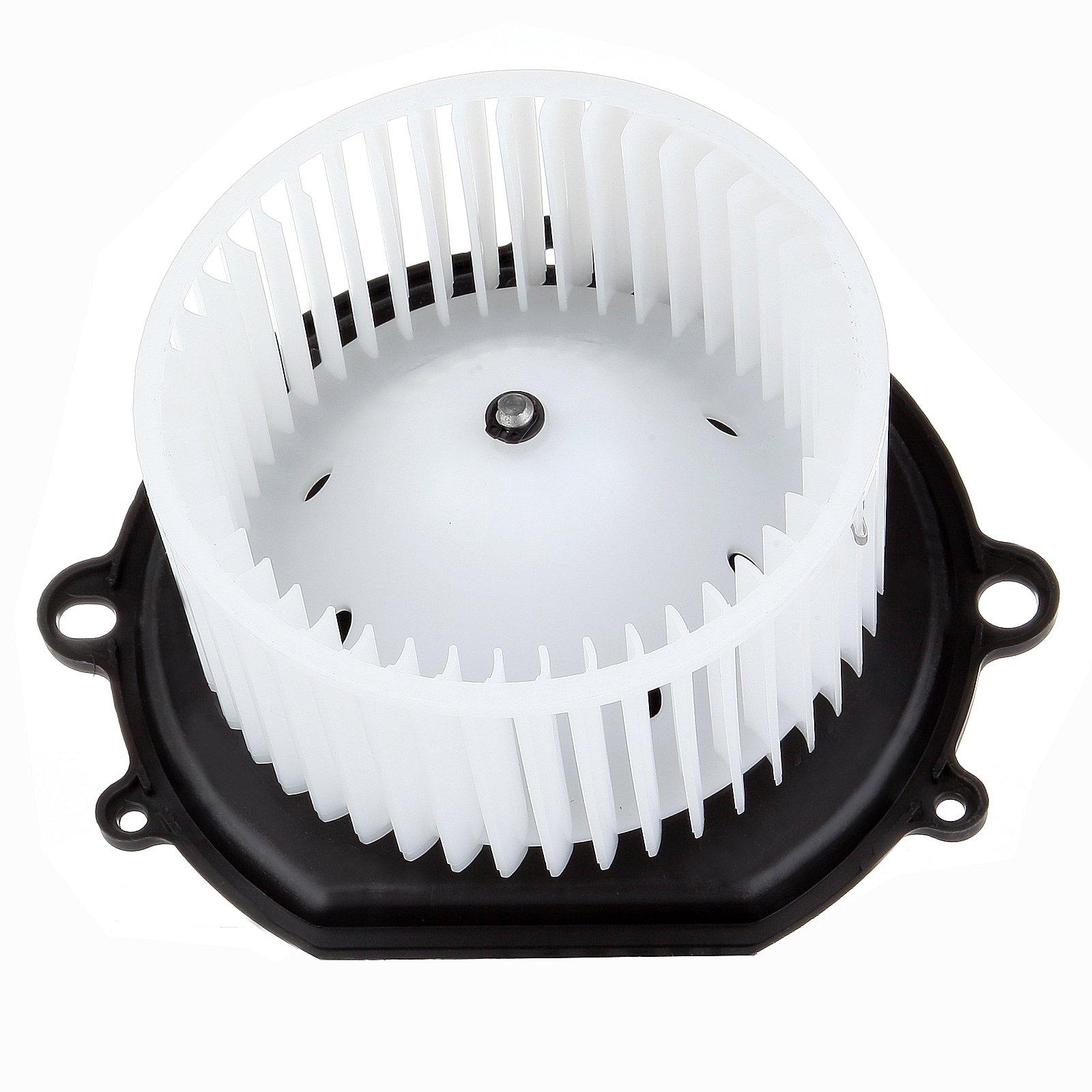 SCITOO ABS plastic Heater Blower Motor w/Fan HVAC Resistors Blowers Motors fit 1996-2007 Ford Taurus 1996-2005 Mercury Sable