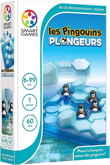 SmartGames - SG 431 ES - Pingüinos de buceo - Juego de ...