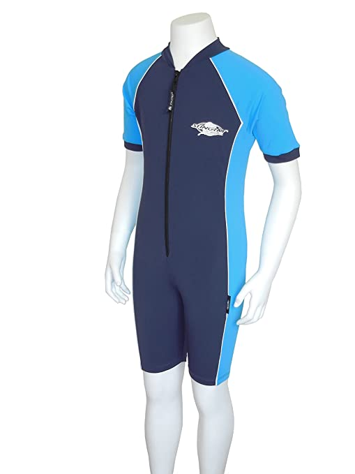 9123e27ee3e4b Image Unavailable. Image not available for. Color: UV Sun Protection Rash  Guard Swim Suit for Boys & Girls-SPF ...