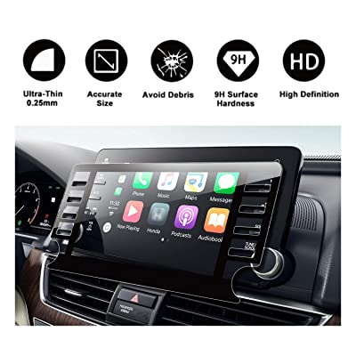 2020 2020 2020 Accord Sport EX EX-L Touring EX-L Navi Navigation Tempered Glass Screen Protector,HD Clear Scratch-Resistant Ultra HD Extreme Clarity with Screen-Printed Tech (2020 8In)