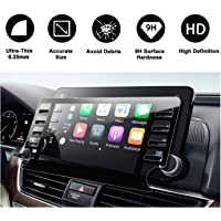 2018 2019 Accord Sport EX EX-L Touring EX-L Navi Navigation Tempered Glass Screen Protector,HD Clear Scratch-Resistant Ultra HD Extreme Clarity with Screen-Printed Tech (2018 8In)
