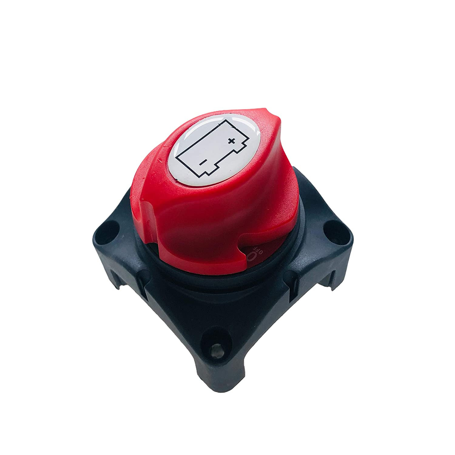 12V Waterproof Switch Disconnect Isolator for Car RV Boat Truck ATV Vehicles On//Off ZOK Battery Disconnect Switch 48V Compatible Battery Power Cut Master