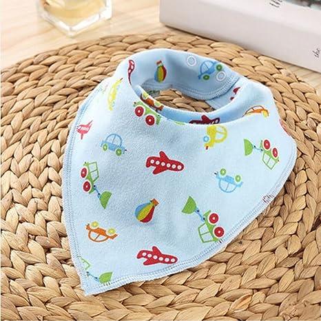 MXJ61 Baberos de bebé Triángulo de toalla de algodón Recién nacidos ...