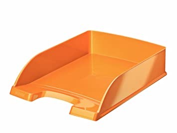 Leitz Bandeja portadocumentos WOW, A4, Naranja metalizado, 52263044