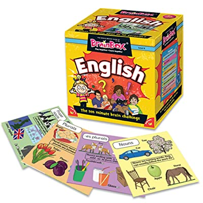 The Green Board Game Co. G0990045 Brainbox English: Toys & Games