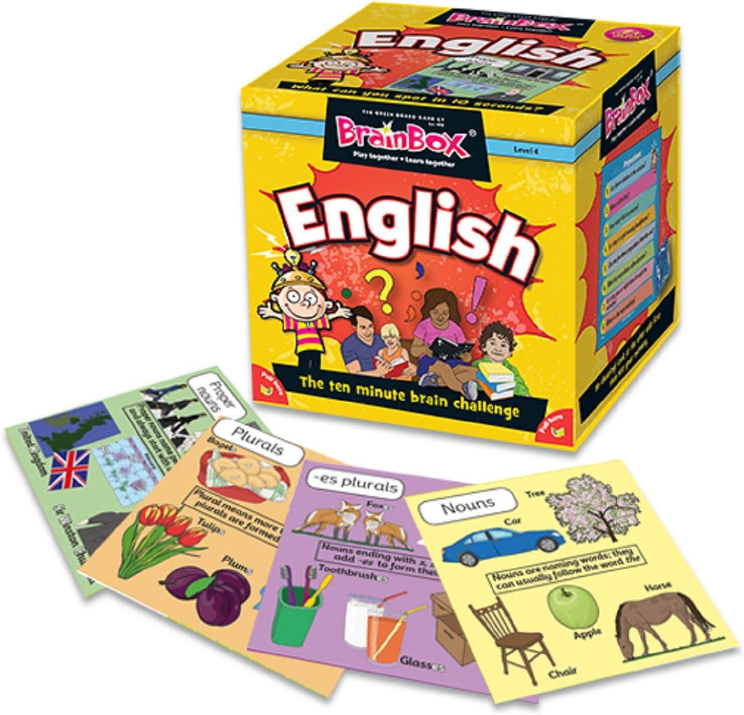 The Green Board Game Co. G0990045 Brainbox Inglés vídeo Juego: Amazon.es: Juguetes y juegos