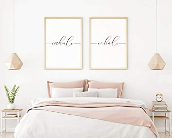 Amazon.com: MalertaART Inhale Exhale Print Inhale Exhale ...