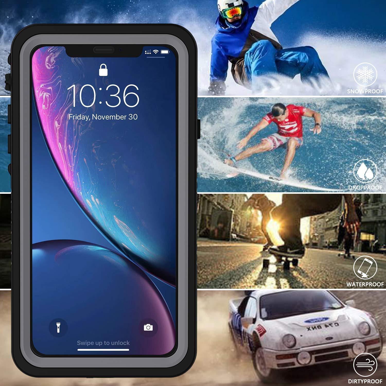 Amazon.com: OTBBA iPhone XR Waterproof Case, IP68 Certified ...