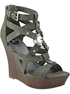3eda13e9761806 G by Guess Womens Dodge Open Toe Casual Platform Sandals