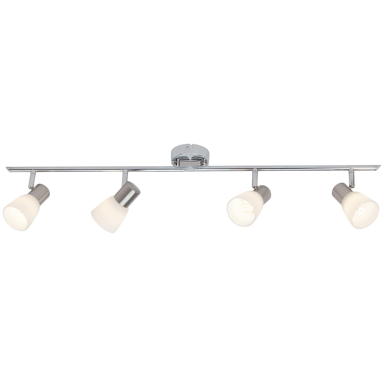 Brilliant Janna Janna Janna LED Spotrohr, 4-flammig, drehbar, 4x E14 3 W LED inklusive, Metall Glas, eisen chrom weiß G46132 77 87a0e7