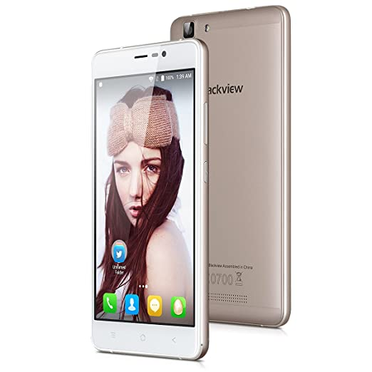 """14 opinioni per Blackview A8 MAX Smartphone- 5.5""""Android 6.0 MT6737 4G Telefono Quad-core 1.3GHz"""