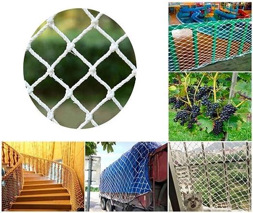 Niños Extraíbles Barandilla de Seguridad Escalera Red de Malla Protección Contra Caídas Red de Seguridad Balcón Y Patios Duraderos - Material de Tela de Malla Resistente - Color Blanco: Amazon.es: Productos para