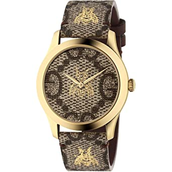 4452f436598 Image Unavailable. Image not available for. Color  Gucci G-Timeless Quartz  Watch YA1264068