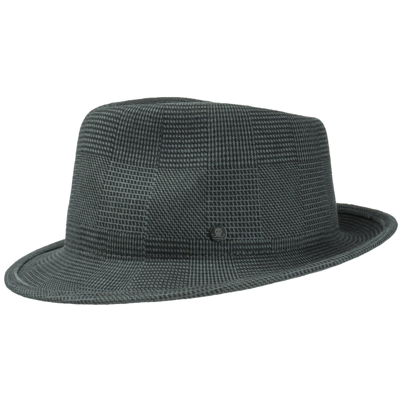 d54192305baf1c Stetson Virgi Wool Felt Fedora Hat Fedora Felt Hat: Amazon.co.uk: Clothing