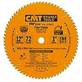 CMT P12072 ITK Plus Finish Saw Blade, 12 x 72