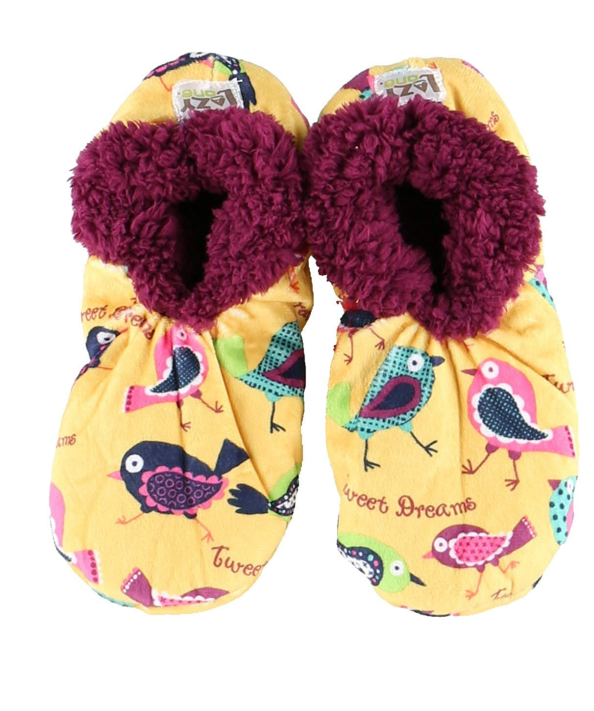 Womens Plush Fuzzy Feet Slippers by LazyOne Ladies Soft Fuzzy House Slippers