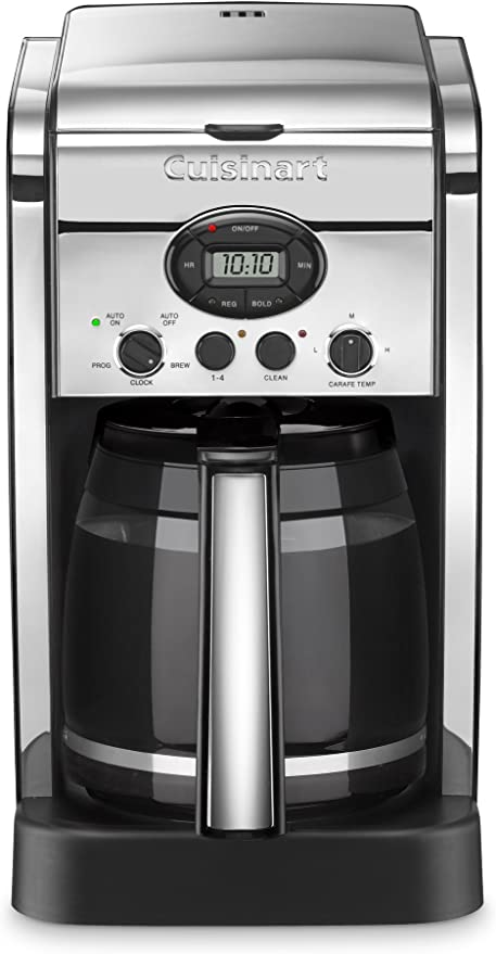 Cuisinart dcc-2600chfr 14 taza Brew central cafetera eléctrica ...
