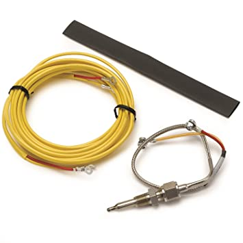 71SBHwxiKzL._SY355_ amazon com auto meter 5249 pyrometer probe kit automotive Autometer Rpm Wiring Diagram at aneh.co