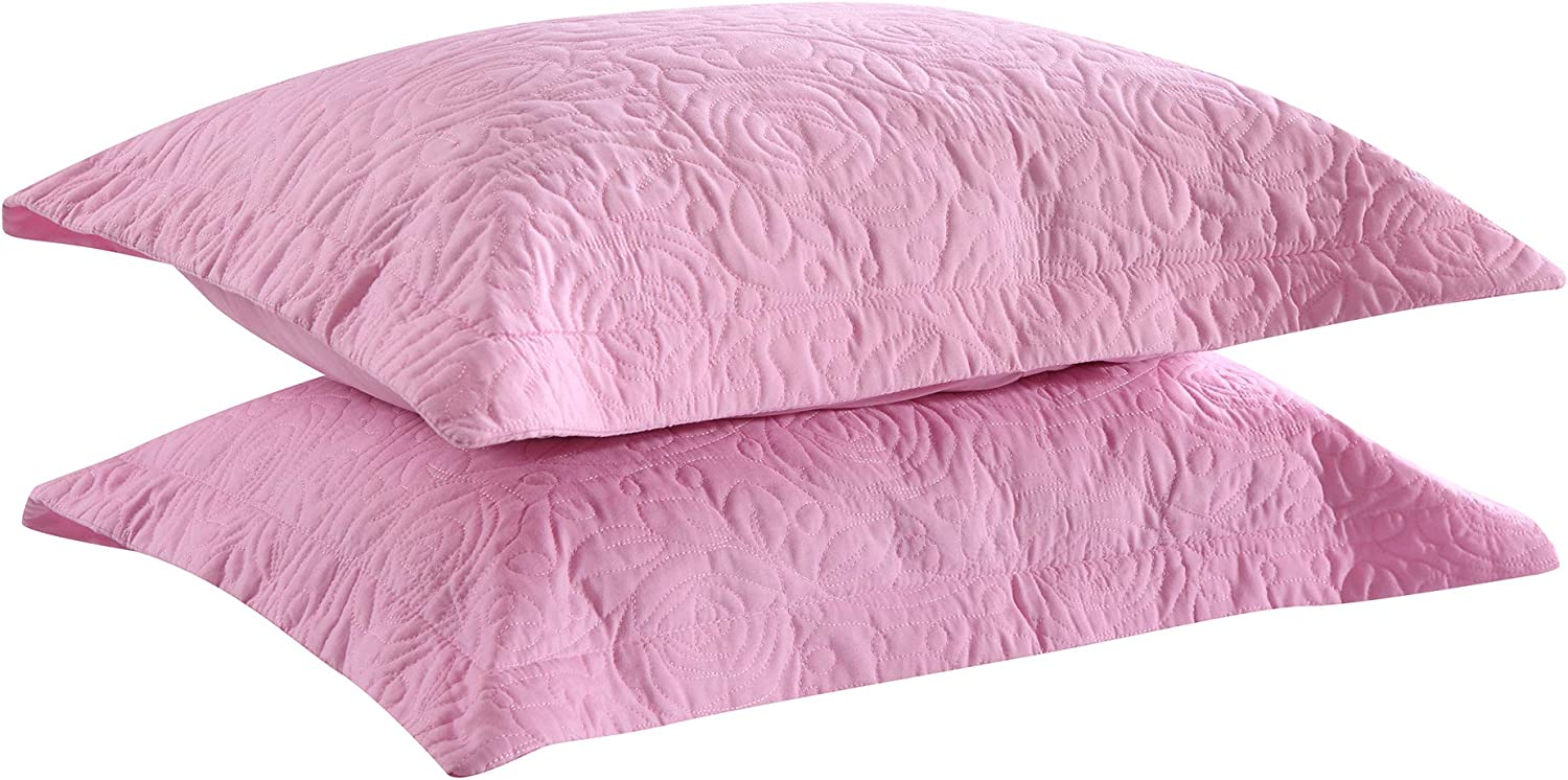 MASVIS Pregnancy Pillow C Shaped Maternity Pillow Full Body Pillow for Pregnant Women Adults Sleeping with Cotton Pillow Cover (31.5 X 59,Rose Red)