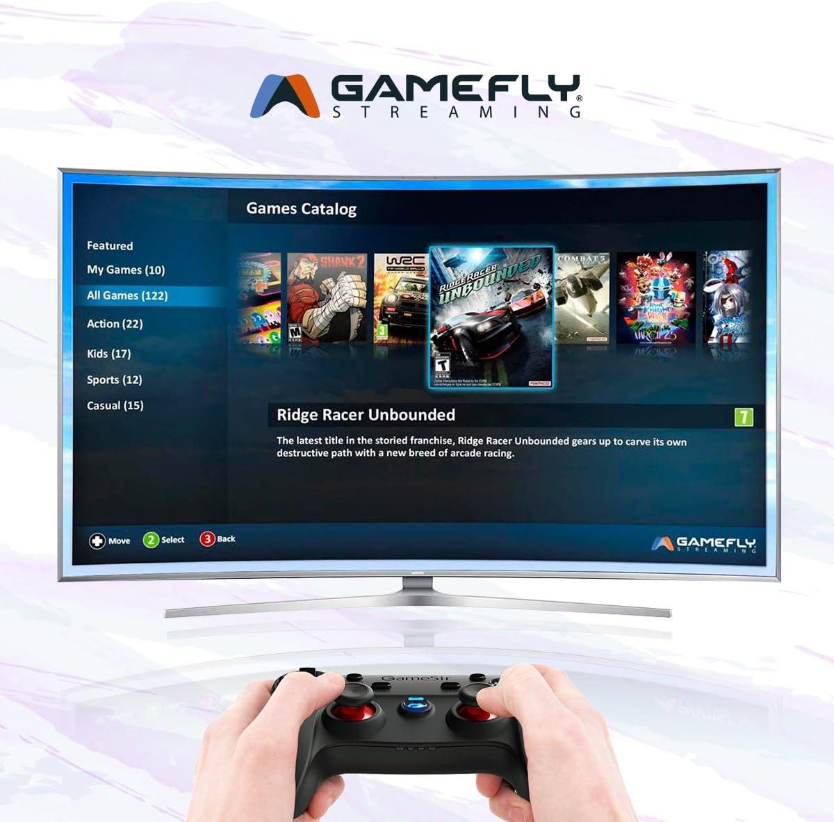 GameSir G3s Mando Inalámbrico para Juegos para Smart TV / TV Box/ Android / PC / PS3 (Sin Soporte Para Móvil) …: Amazon.es: Videojuegos