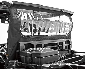 2018-2020 Genuine Kawasaki Mule PRO-FXR KQR Soft Rear Panel Black 99994-1055