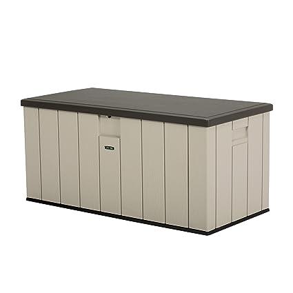 Keter Aufbewahrungsbox Denali 150 grau 570L Auflagenbox Kissenbox Gartentruhe