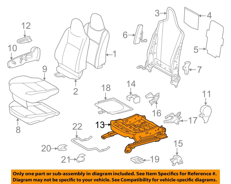 TOYOTA Genuine 71620-52181 Seat Cushion Spring