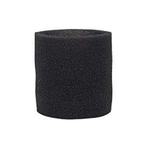 Multi-Fit Wet Vac Filters VF2001 Foam Sleeve/Foam Filter For Wet Dry Vacuum Cleaner (Single Wet Vac Filter Foam Sleeve) Fits Most Shop-Vac, Vacmaster & Genie Shop Vacuum Cleaners