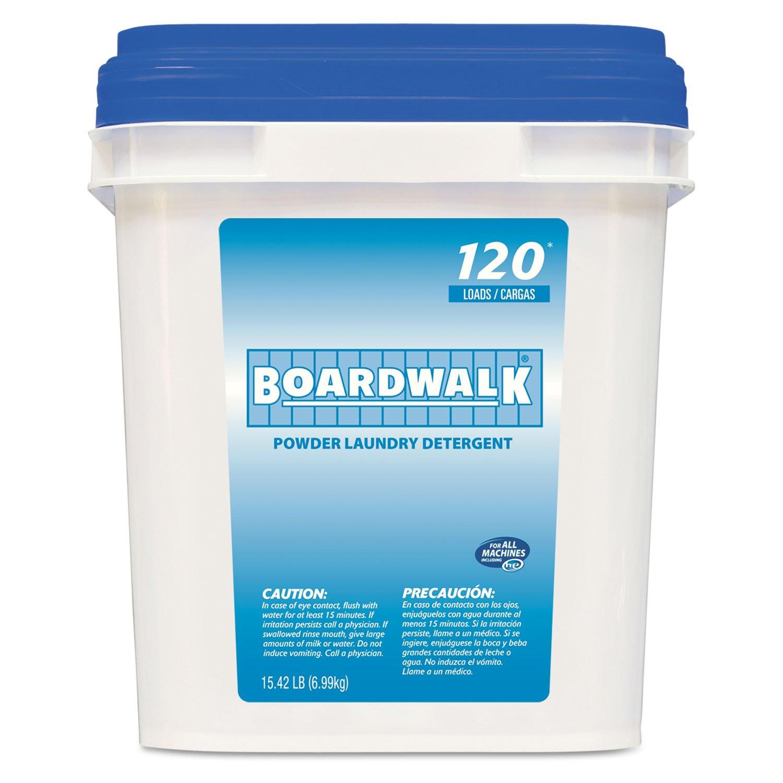Laundry Detergent Powder, Crisp Clean Scent, 18 lb Pail, 1/Case, Lot of 1 by Boardwalk