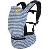 Baby Tula Lite Compact Baby Carrier, Ultra Compact and Lightweight, Convenient Carry Pouch, Ergonomic and Multiple Positions