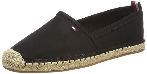 Tommy Hilfiger Basic Flat Espadrille, Alpargata para Mujer: Amazon.es: Zapatos y complementos