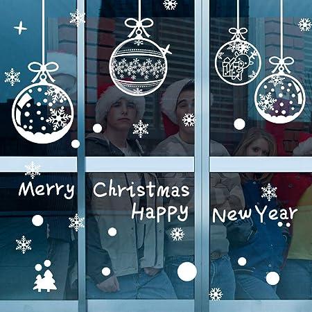 Fenstersticker Weihnachten Merry Christmas Fensterdeko Weihnacht Fenstertattoo