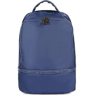 8cd323d13243 Amazon.com  ZORFIN Waterproof Nylon Backpack for Women Men Rucksack ...