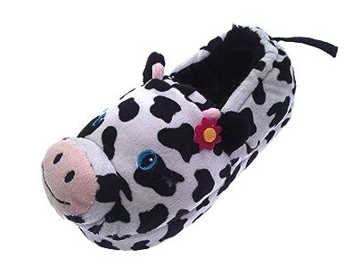 09803c0367c Kids Girls Plush 3D Animal Slippers Boots Winter Booties Xmas Gift Size UK  9-3  Amazon.co.uk  Shoes   Bags