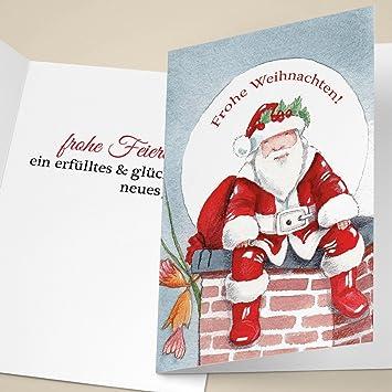 Edle Weihnachtskarten.100er Set Edle Unternehmen Weihnachtskarten Mit