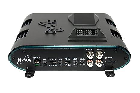 Nova nv12002ch 1200 W 2 canales clase A/B amplificador de audio del coche