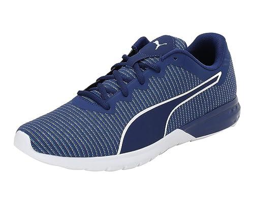 Puma Men s Vigor Colorshift Blue Depths-Lapis Blue- White Running Shoes -  11 UK 33f885f25