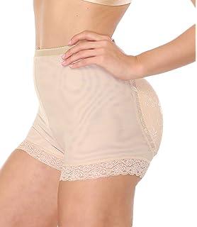 82dc97405bc NINGMI Women Butt Lifter Padded Shapewear Enhancer Control Panties Body  Shaper Underwear