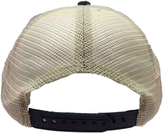 Olympia Beer Brewing Company Retro Brand Navy Vintage Tattered Mesh Adj Hat Cap