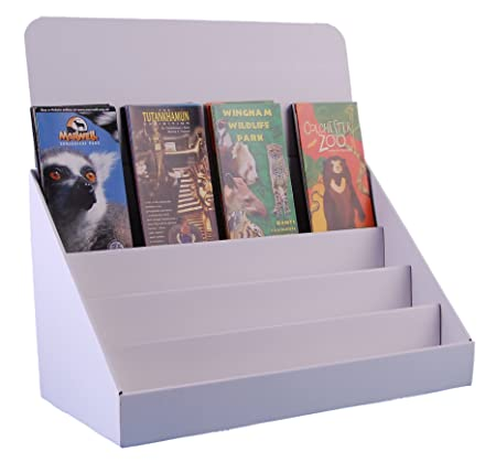 Stand store 18 inch 4 tier cardboard greeting card display stand product description pack of 4 black cardboard greeting card m4hsunfo