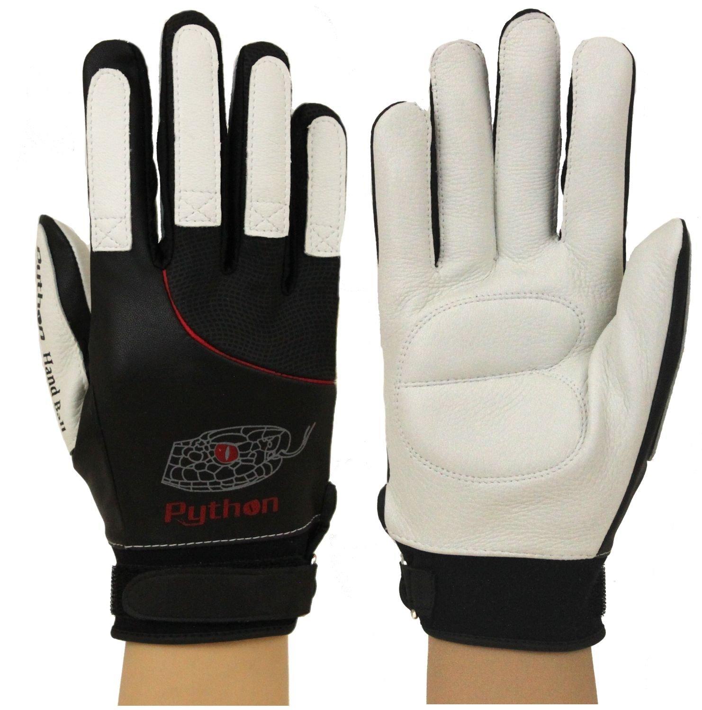 Python Deluxe Handball Glove (Pair) (Padded) (w/Strap) (Large)
