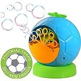 Máquina automática de burbujas de Geekper para el uso al aire libre o de interior - Diversión de los niños (azul)