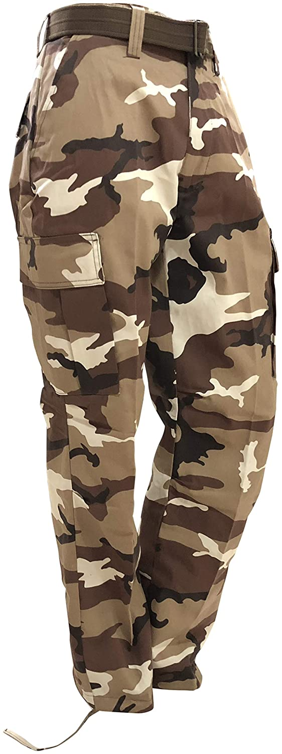 a517d3a1914ab Amazon.com: Regal Wear Mens Legendary Army Cargo Pants with Belt: Clothing